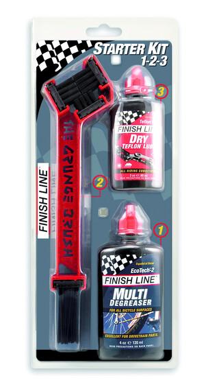 Finish Line Starter Kit 1-2-3-The Grunge Brush Combo 2